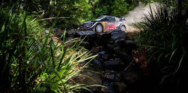FIA World Rally Championship / Kennards Hire Rally Australia /  Significant advantage rests with Ogier in WRC title fight Down Under