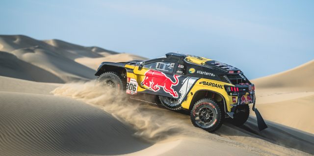 Loeb and Walkner make up time after second Dakar Rally stage