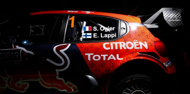 FIA World Rally Championship / New Citroën livery unveiled for Ogier's 2019 C3 WRC contender