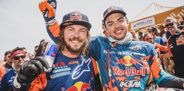 Dakar Rally victories for Nasser Al-Attiyah and Toby Price in Peru