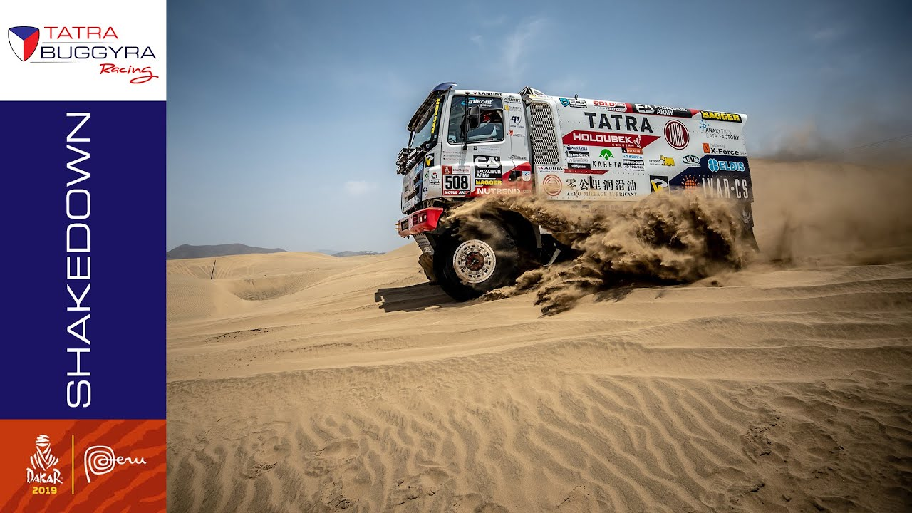 Tatra Buggyra Racing On Dakar 2019 Shakedown Asc Action
