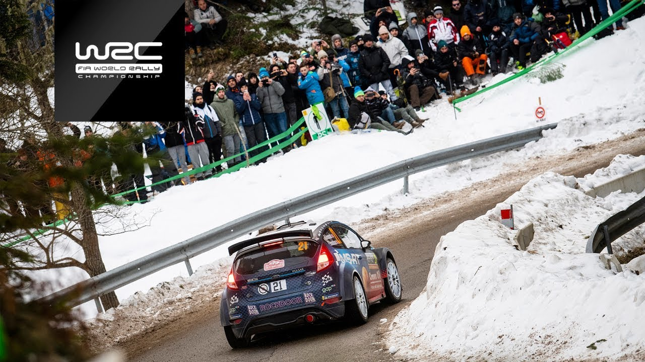 wrc 2 wrc 2 pro rallye monte carlo 2019 event highlights asc action sports connection. Black Bedroom Furniture Sets. Home Design Ideas