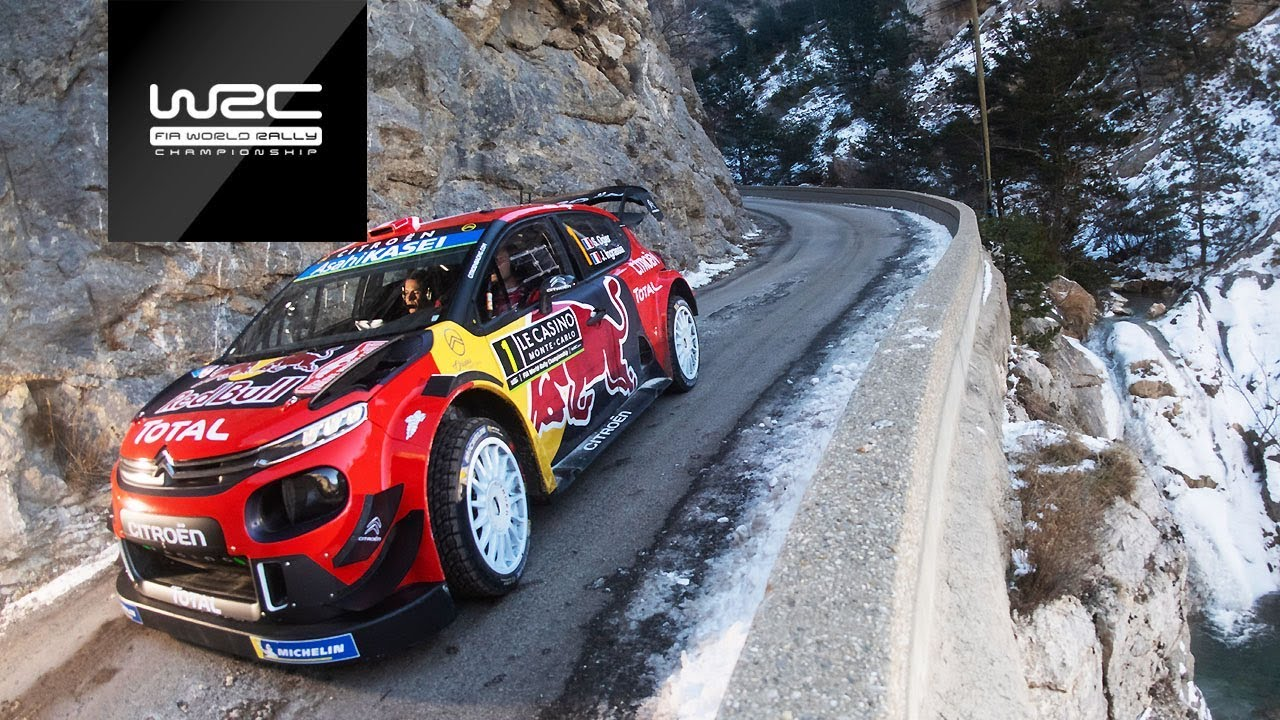 wrc rallye monte carlo 2019 event highlights clip asc action sports connection. Black Bedroom Furniture Sets. Home Design Ideas