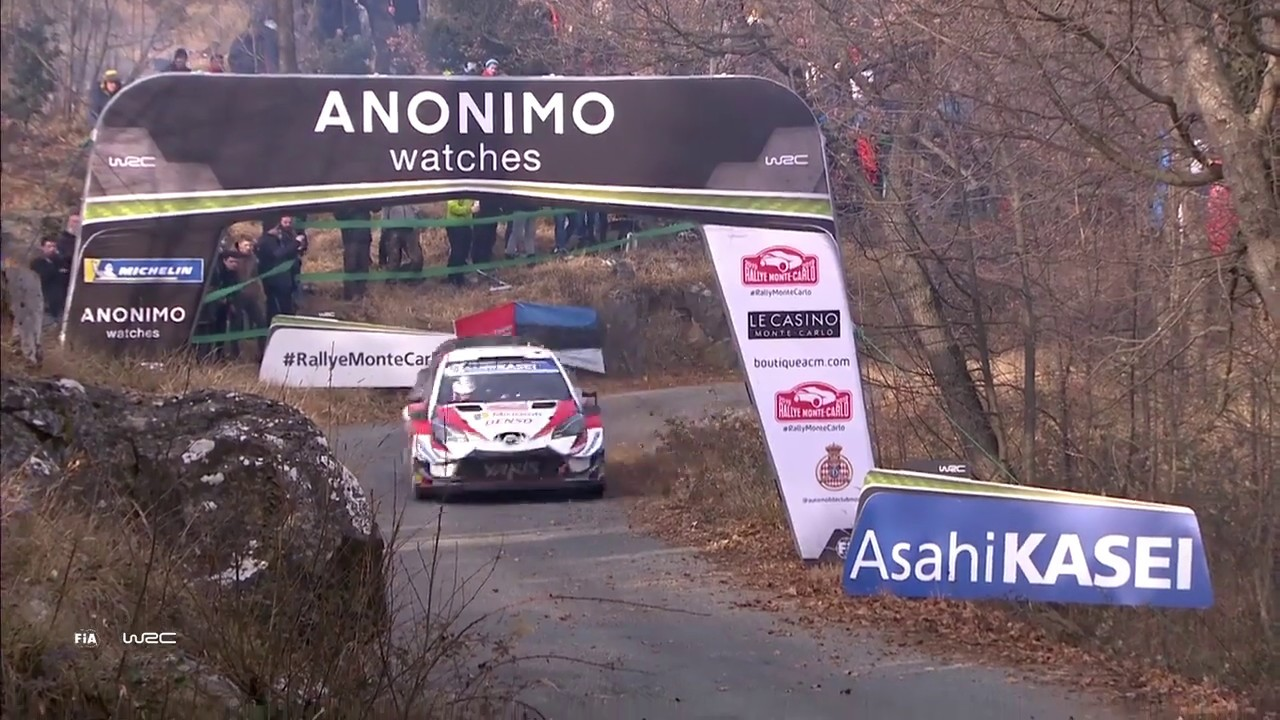 wrc rallye monte carlo 2019 highlights stages 13 14 asc action sports connection. Black Bedroom Furniture Sets. Home Design Ideas
