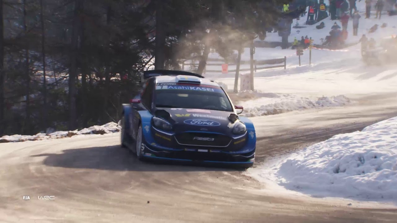 wrc rallye monte carlo 2019 m sport ford wrt saturday highlights asc action sports. Black Bedroom Furniture Sets. Home Design Ideas