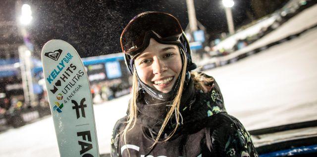Sildaru lands world first switch 1080 in ski halfpipe world victory