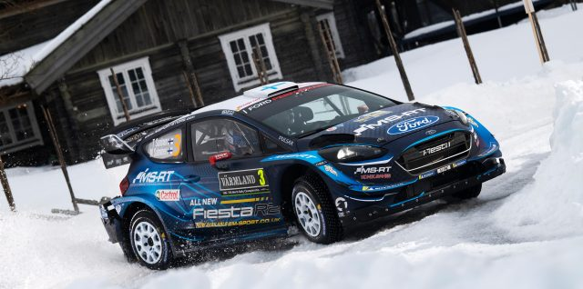 FIA World Rally Championship / Rally Sweden / Suninen shines on tricky Friday