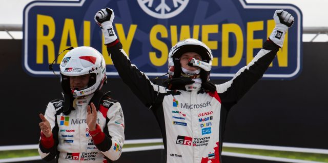 FIA World Rally Championship / Rally Sweden / Ice-cool Tänak wins in Sweden to lead World Rally Championship