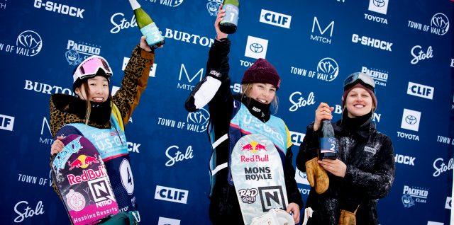 Triple-crown for Sadowski-Synnott with Burton US Open slopestyle win