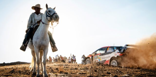 FIA World Rally Championship / Rally Mexico / Evans and Tänak stay in hunt for win