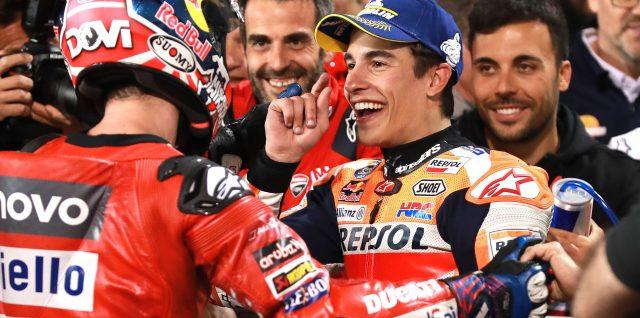Dovizioso and Márquez in riveting final lap Qatar GP showdown