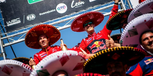FIA World Rally Championship / Rally Mexico / Ogier wins to cut Tänak lead