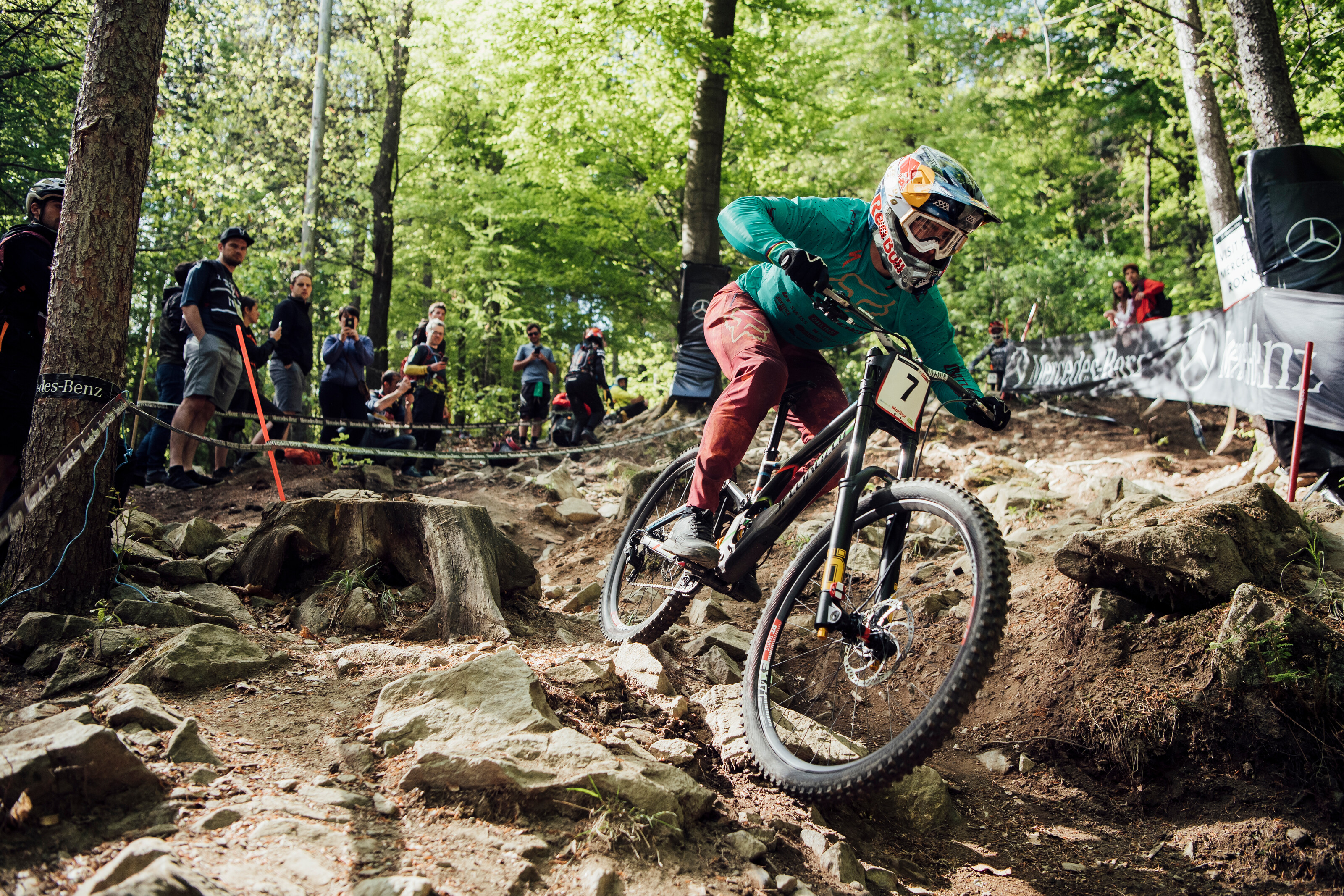 67e3794feae Bike / UCI MTB World Cup / Bruni and Seagrave open season with Maribor  downhill wins