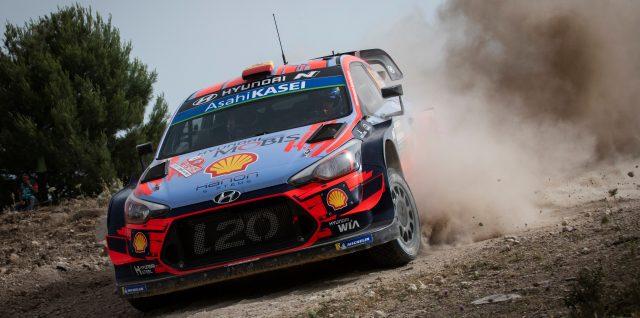 FIA World Rally Championship / Rally Italia Sardegna / Sordo leads Rally Italia Sardegna as WRC leader Ogier crashes