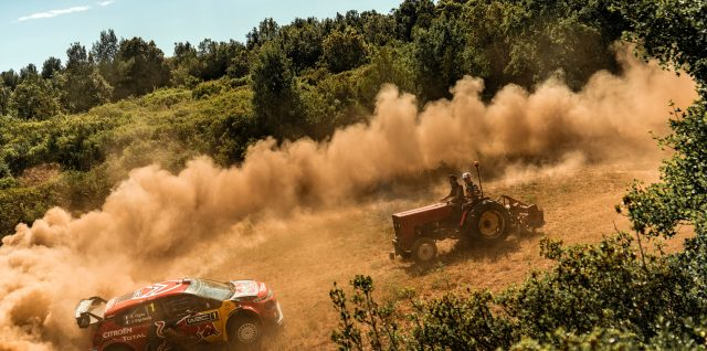 Motorsports / The French Connection / Pierre Gasly ditches tractor for WRC lift to French GP