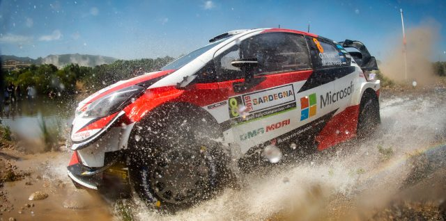 FIA World Rally Championship / Rally Italia Sardegna / Clean sweep for Tänak as he takes Rally Italia Sardegna lead Saturday