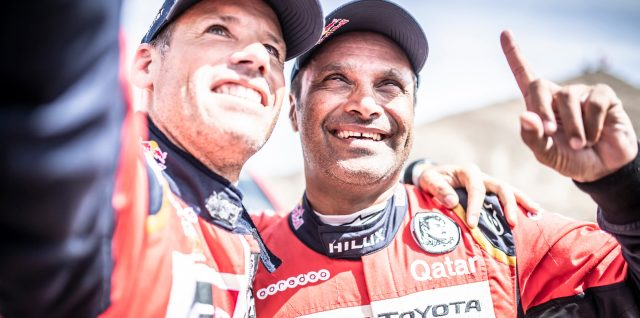 Al-Attiyah and Baumel combine for historic Silk Way Rally car title