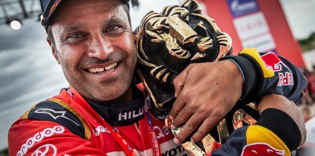Silky smooth Nasser Al-Attiyah achieves rally raid perfection