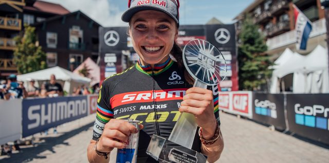 Gutsy Courtney secures first World Cup title on home soil
