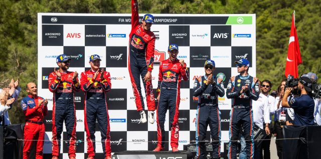 FIA World Rally Championship / Rally Turkey / Ogier win rekindles title defence