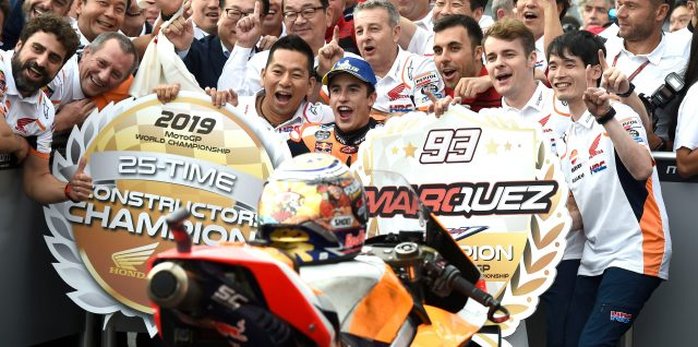 Marquez helps Honda seal MotoGP constructors' crown with Japan win