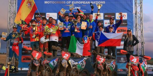 Team Italy and Team Netherlands Victorious in Poland for the MXoEN and WMXoEN