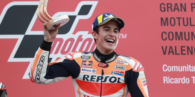 Victory in Valencia for Marquez after finishing the 'perfect season'