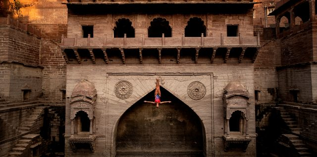 Duque and Iffland dive into historic Toorji Step Well