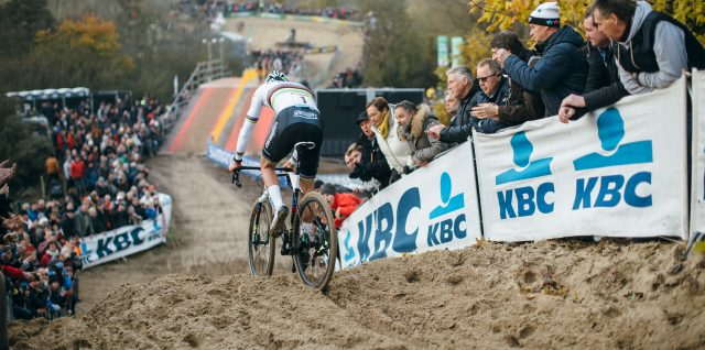 Van der Poel extends win run at UCI Cyclo-cross World Cup
