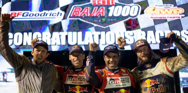 Al-Attiyah and Price team up for Baja 1000 podium