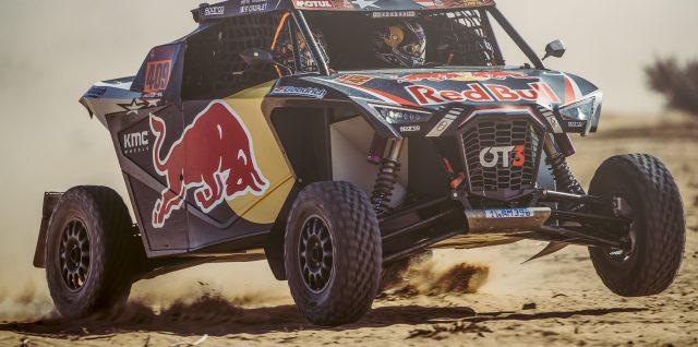 Motorsport / Dakar Rally / Sainz extends lead as Hildebrand captures stage win