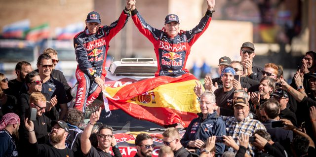 Motorsport / Dakar Rally / Sainz holds off rivals for third title in Saudi Arabia