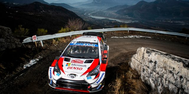 FIA World Rally Championship / Rallye Monte-Carlo / Ogier snatches lead as Tänak crashes