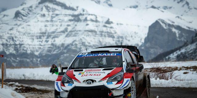 FIA World Rally Championship / Rallye Monte-Carlo / Elfyn Evans holds advantage in Monte-Carlo thriller