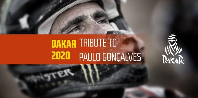 Dakar 2020 – Tribute to Paulo Gonçalves