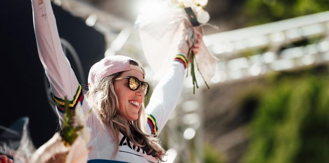 Rachel Atherton back on the bike and targeting World Cup return