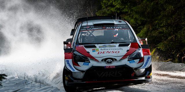 FIA World Rally Championship / Rally Sweden / Evans doubles lead over Tänak