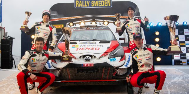 FIA World Rally Championship / Rally Sweden / Briton Evans seals win for title lead